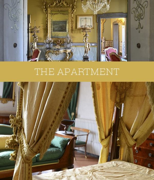 luxury apartment tuscany